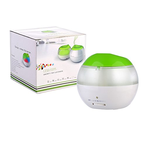 3s Led Color Mini 120ml Usb Air Mist Humidifier For Bedrooms Living Rooms Car Home And
