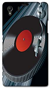 Timpax Protective Hard Back Case Cover Printed Design : Lets play some music.For Sony L39-H ( Sony 39 )