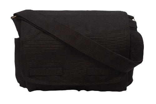 Rothco Hw Canvas Classic Messenger Bag, Black (Messenger Bag Jack Bauer compare prices)