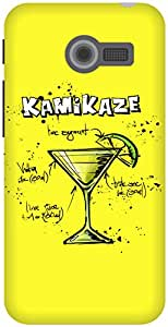The Racoon Lean Lemon Kamikaze hard plastic printed back case / cover for Asus Zenfone 4 A400CG