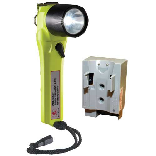 Pelican Little Ed Rechargeable 3660 Led Flashlight, Yellow