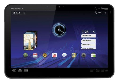 MOTOROLA XOOM Android Tablet (10.1-Inch, 32GB, Wi-Fi) by Motorola