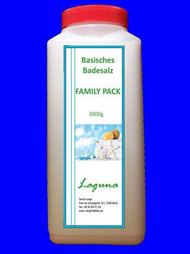 3000 g Basisches Bade-Salz Badesalz Bad Salz Spa Entspannung 3kg