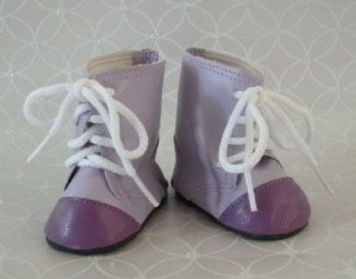 Lavender 2-tone Boots - 1