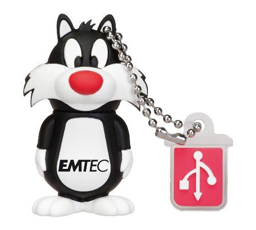 EMTEC Looney Tunes 8 GB USB 2.0 Flash Drive, Sylvester the Cat