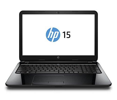 HP 15-g021ng 39,6 cm (15,6 Zoll) Notebook (AMD Quad-Core A4-6210, 1,8GHz, 4GB RAM, 1000GB HDD, Radeon R3, DVD, DOS) schwarz