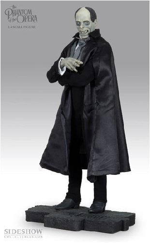 Buy Low Price Sideshow Universal Classic Monsters: Phantom of the Opera Silver Screen Premium Format Figure by Sideshow Collectibles! (B001928YCY)