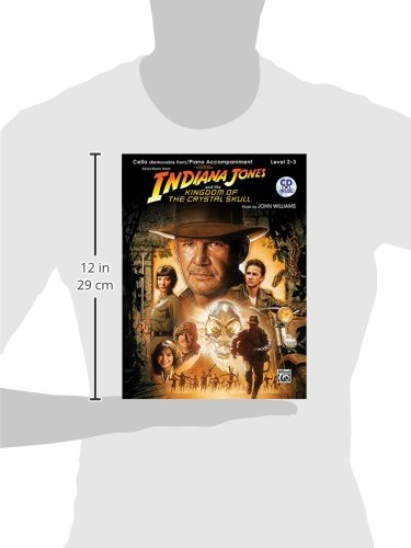 Indiana Jones and the Kingdom of the Crystal Skull Cello/P  CD (Pop Instrumental Solo)