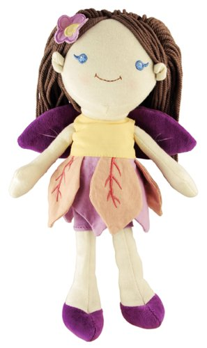 miYim Good Earth Brunette Fairy Rag Doll