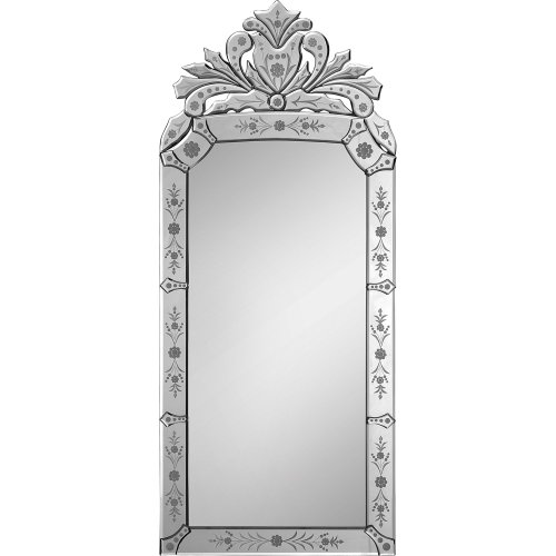 Ren-Wil Mt1020 Wall Mount Mirror By Jonathan Wilner And Paul De Bellefeuille, 43 By 19-Inch front-797267