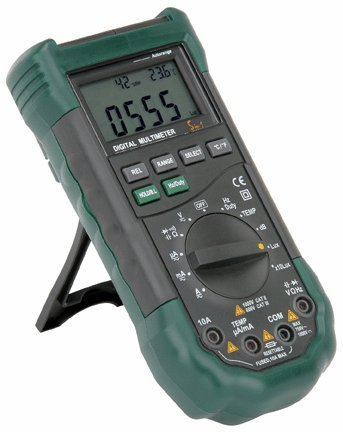 Cen-Tech 14 Function Professional Digital Multimeter with Sound Level and Luminosity (Cen Tech Digital Multimeter compare prices)