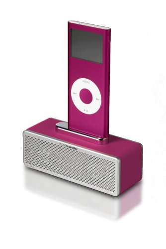 Sound traveller universal ipod/ Phone/ USB speaker K3000 in pink