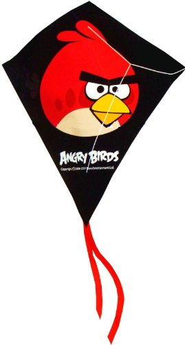 Angry Birds Red Bird Mini Poly Diamond Kite 7.5
