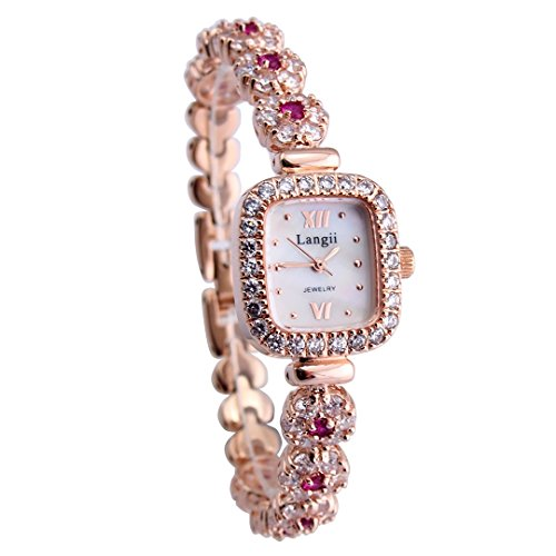 Langii Lrg1514b21pk Women's Jewelry Bracelet Wrist Watches Rose Gold
