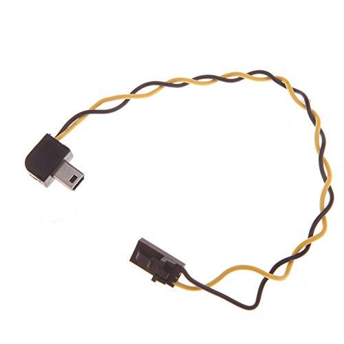 Andoer 90 Grad USB-Anschluss zu AV-Video-Ausgang Kabel FPV für Gopro Hero 3