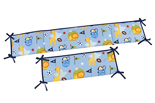 Little Bedding No.1 Team Traditional Padded Bumper - 1