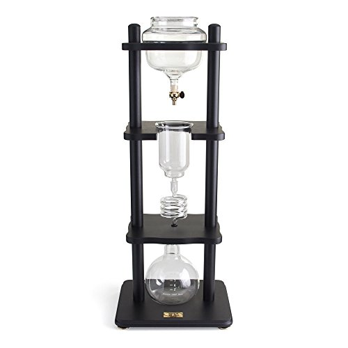 Yama-6-8-Cup-Cold-Drip-Maker-Curved-Black-Wood-Frame