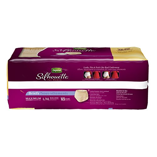 depend silhouette incontinence absorbency packaging bjlgqc