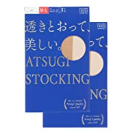 (アツギ)ATSUGI ATSUGI STOCKING 透きとおって美しい 〈3足組2セット〉