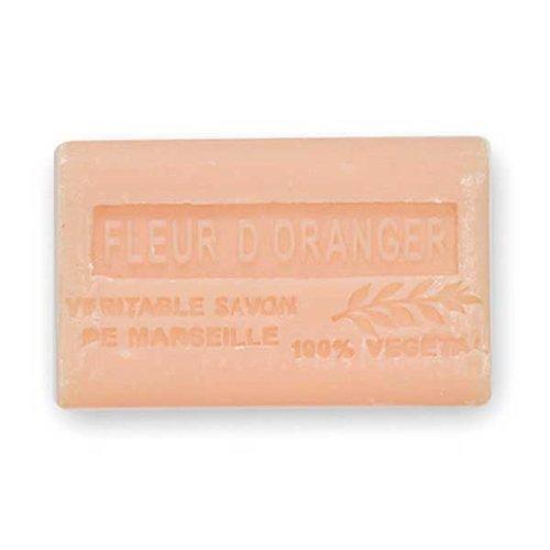 (南仏産マルセイユソープ)SAVON de Marseille オレンジフラワーの香り(SP011)(125g)