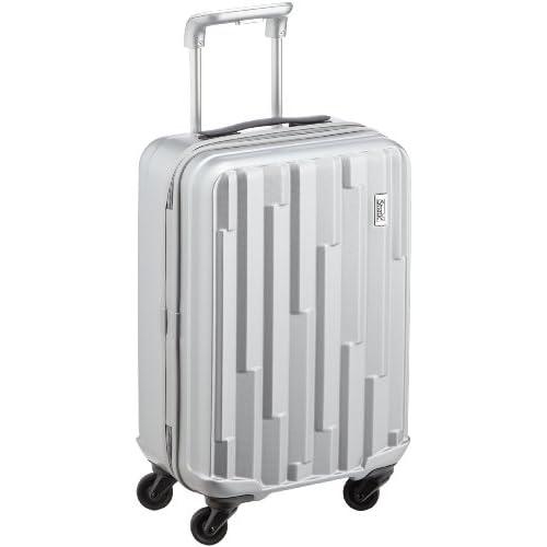 [ストラティック] Stratic Cliff /スーツケースSサイズ 航空機内持ち込みサイズ 4輪 32.5L 超軽量ハードタイプのキャリーケース 3-9546-55 003 /brilliant silver (シルバー)