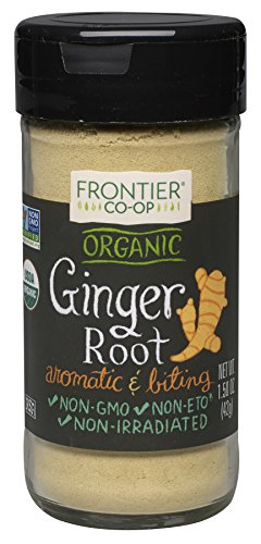 Frontier Natural Products Ginger Root, Og, Ground, 1.50-Ounce (Frontier Natural Products compare prices)