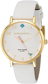 Kate Spade Metro White Enamel Dial Ladies Watch
