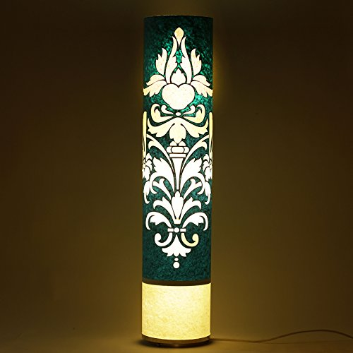 craftter-cartouche-pattern-blue-and-white-35-inch-long-cylinderical-cylinderical-artistic-floor-lamp