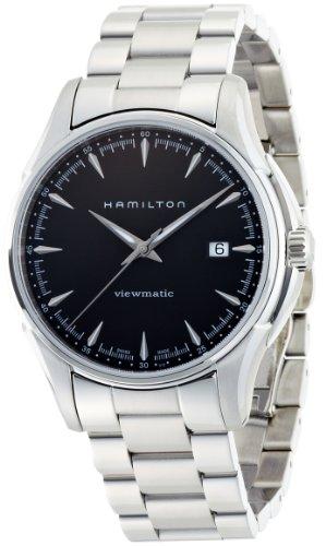 Hamilton Men's H32665131 Jazzmaster Black Dial Watch