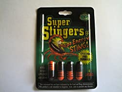 SUPER STINGERS MEGA ENERGY EPHEDRA FREE 96 PILLS