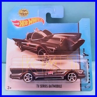 2014 Hot Wheels Hw City - TV Series Batmobile [Short Card] - 1
