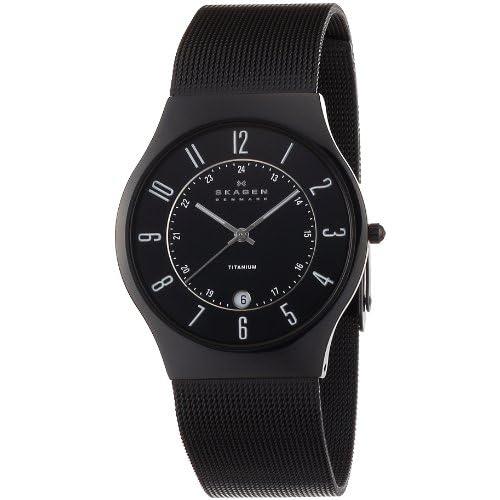 [スカーゲン]SKAGEN 腕時計 basic titanium mens 233XLTMB ケース幅: 37mm メンズ [正規輸入品]