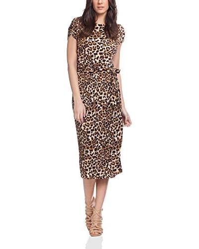 Tantra Vestido Print Leopard