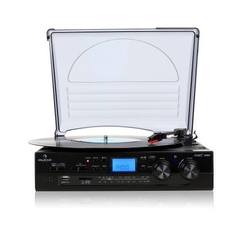 auna-tt-186e-stereo-turntable-record-player-lp-usb-sd-mp3-recording-fm-radio-tuner-integrated-speake