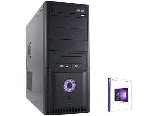 WINDOWS 10 Pro 64 Bit, PC Intel i5 6500 Skylake Quad Core 4x3,2GHz, 120GB SSD + 1TB HDD , 16GB DDR4 (2133MHz), Intel HD Grafik (DVI-VGA), 3xUSB 3.0 , 5xUSB 2.0 , WLAN , Kartenleser , Audio , DVD Brenner, 420W, computer, rechner, multimedia, pc, desktop