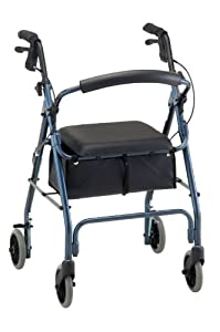 "NOVA Medical Products ""GetGo Classic"" 4202C Rolling Walker, Blue (formerly Cruiser Deluxe Classic)"