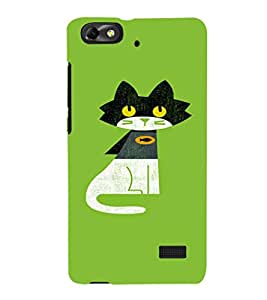 EPICCASE Super Cat Mobile Back Case Cover For Huawei Honor 4C (Designer Case)