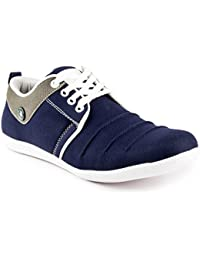 Cognac Men's Synthetic Blue Casual Shoes Sneakers