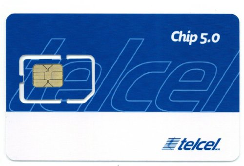 Mexico Telcel Prepaid Sim Card With 300 Peso Credit, 3G Data, Call **Shipping From Usa