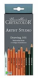 Cretacolor Artists Studio Line Drawing 101 Introduction Set of 12