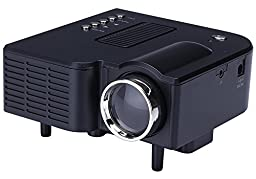 B1 LED LCD (QVGA) Mini Video Projector - International Version (No Warranty) - DIY Series - Black (FP3224B1-IV1)