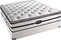 Big Sale Beautyrest Classic Howes Plush Pillow Top Queen Mattress Set