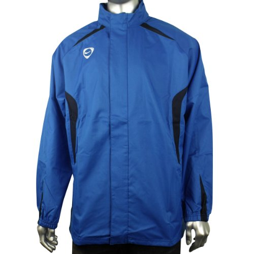 Mens Nike Vapor Tiempo Blue Woven Coat Football Running Training Jacket L-XXL