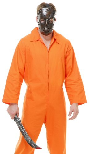 Psycho Inmate Orange Adult Costume