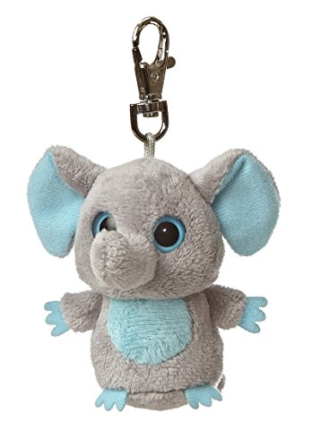 "Tinee Elephant Yoohoo Clip on 3"" by Aurora"