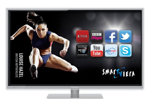 Panasonic TX-L42ET50B 42-inch Widescreen Full HD 1080p 3D Smart VIERA LED TV with Freeview HD - Silver