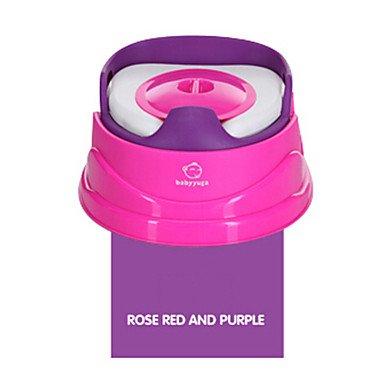 PitengTM boon panchina vasino, rosa pp rosso e viola con tappetino del sedile