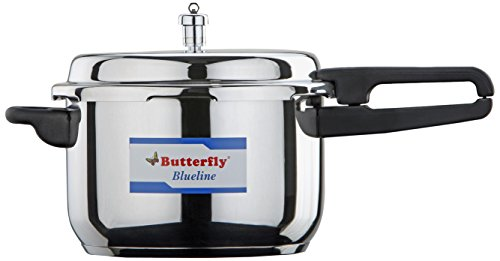 Butterfly BL-3L Blue Line Stainless Steel Pressure Cooker, 3-Liter (Ss Pressure Cooker compare prices)