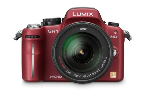 Panasonic Lumix GH1KEB9R 12.1 MP Compact System Camera - Red