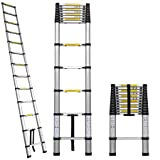 12.5 Aluminum Telescopic/Telescoping Loft Ladder Extension Extendable Portable